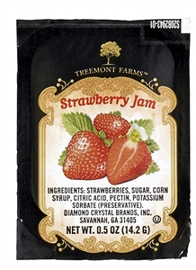 Strawberry Jam Cup - 0.5 Oz.