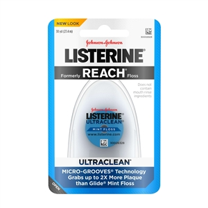 Listerine Ultra Clean Mint Floss - 30 Yard