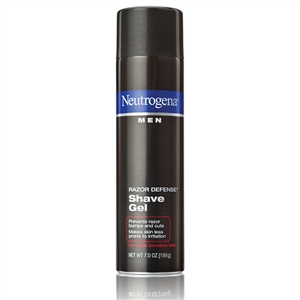 Neutrogena Men Razor Defense Shave Gel - 7 Oz.