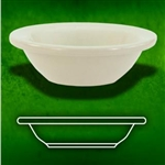 American White Fruit Dish - 4 oz.