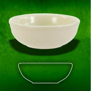 American White Dover Nappie Bowl - 7.38 in.