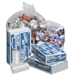 Clear Perforated Can Liner Roll - 36 in. x 58 in.