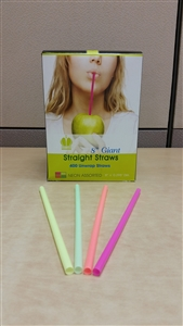 Neon Unwrapped Giant Straw - 8 in.