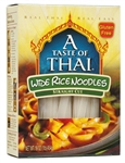 Wide Rice Noodles - 1 Lb.