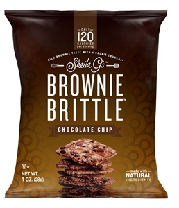 Sheila Gs Brownie Brittle Chocolate Chip - 1 oz.