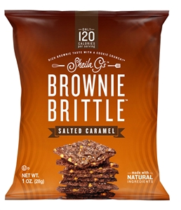 Sheila Gs Salted Caramel Brownie Brittle - 1 oz.
