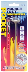 Carded Pocket Thermometer - 1 in.