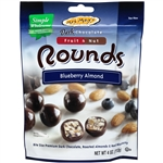 Dark Chocolate Blueberry Almond Rounds - 4 oz.