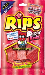 Rips Rippin Reds Bite Size - 4 oz.
