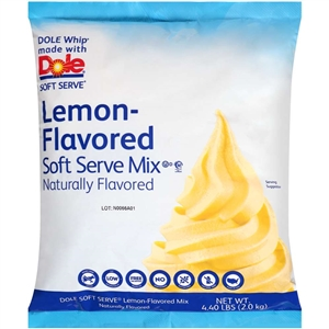 Dole Soft Serve Lemon Naturally Flavored - 4.4 Lb.