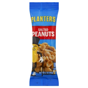 Planters Snack Nuts Salted Peanuts - 2 Oz.