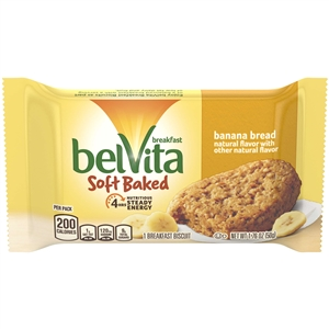 Belvita Breakfast Soft Baked Banana Cookies - 1.76 oz.