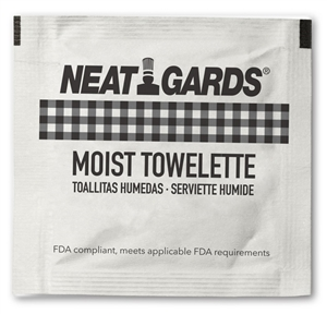 NeatGards Disposable Moist Towelettes