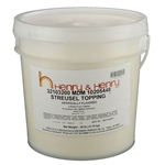 Streusel Topping Partially-Hydrogenated Oilfree - 28 Pound