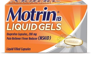 Motrin Liquid Gels 20 Count
