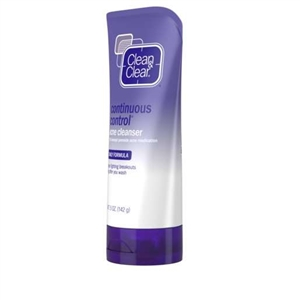 Clean and Clear Continuous Control Acne Cleanser - 5 Oz.