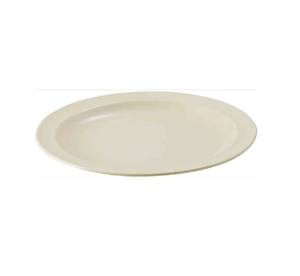 Plate Round Melamine Tan - 10.25 in.