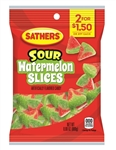 Sathers Sour Watermelon Slices - 3 Oz.