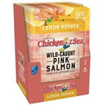 Pink Salmon Lemon Pepper Skinless Boneless - 2.5 Oz.