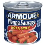 Armour Hot and Spicy Vienna Sausage - 4.6 Oz.