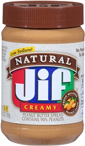 Peanut Butter Natural Creamy - 28 oz.
