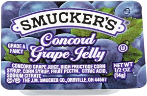 Grape Jelly Plastic - 0.5 oz.