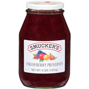 Strawberry Preserves - 4 Pound