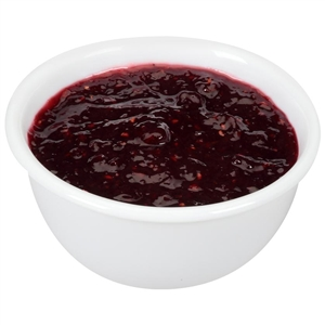 Natural Red Raspberry Jam - 0.5 Oz.