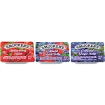 Jelly Assortment 4 Pack Plastic - 0.5 oz.