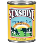 Sunshine Evaporated Milk - 12 Fl. Oz.