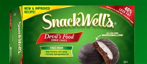 Snackwells Devils Food Cookie Two Pack - 1.1 Oz.