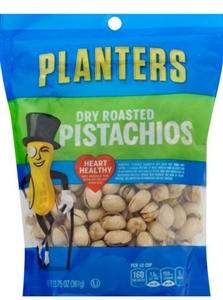 Planters Dry Roasted Pistachio Snack - 12.75 Oz.