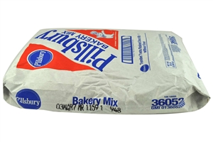 Pillsbury Yeast-Raised Tender Taste Plain Donut Mix - 50 Lb.