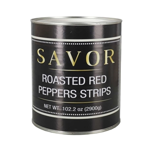 Roasted Red Pepper Strips