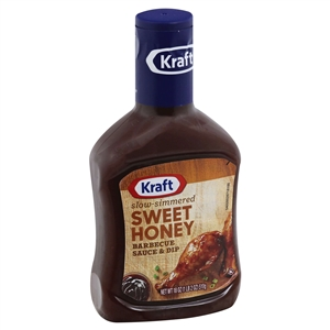 Kraft Barbecue Sauce Sweet Honey - 1.125 Pound