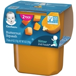 Gerber 2nd Foods Baby Food Butternut Squash - 8 Oz.