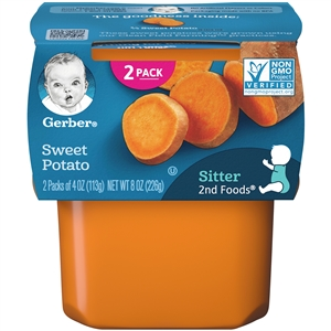 Gerber 2nd Foods Baby Food SweetPotatoes - 8 Oz.