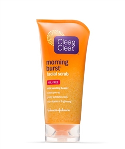 Clean and Clear Morning Burst Orange Scrub - 1 Oz.
