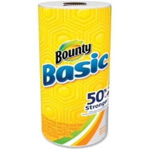 Bounty Basic Paper Towel Roll White