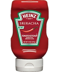 Heinz Ketchup Blended With Sriracha Flavor - 14 Oz.