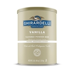 Ghirardelli Vanilla Powder Base - 3 Pound