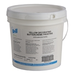 Decorating Icing Yellow Transmart Pail - 14 Lb.
