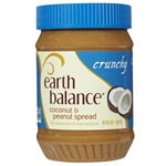 Earth Balance Crunchy Coconut and Peanut Spread - 16 Oz.