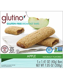 Glutino Breakfast Bars Apple - 7.1 Oz.