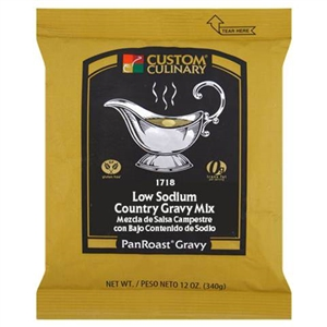 PanRoast Low Sodium Country Gravy Mix - 20 Oz.