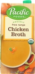 Pacific Organic Free Range Chicken Broth - 32 Fl. Oz.