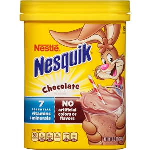 Nesquik Chocolate Drink Mix Powder - 9.3 Oz.