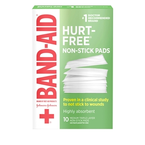 First Aid Nonstick Pads - 2 in. x 3 in.