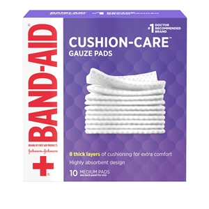 Band-Aid First Aid Gauze Pad - 3 in. x 3 in.