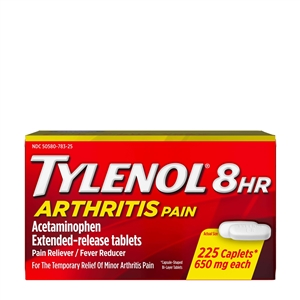 Tylenol 8 Hour Arthritis Pain Caplets | Bulk Case of 5400